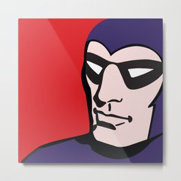 Superhero No. 25 Metal Print