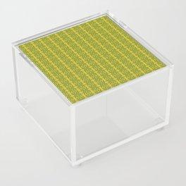 Marijuana Leaf Pattern Acrylic Box