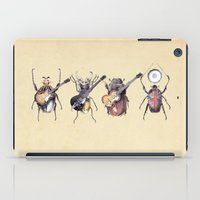 marine iPad Cases featuring Meet the Beetles by Eric Fan