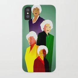 GOLDEN GIRLS  iPhone Case