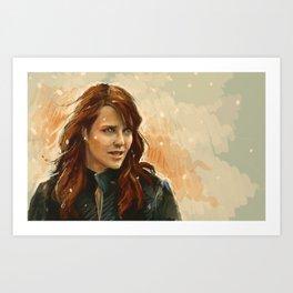 Helen Magnus Art Print