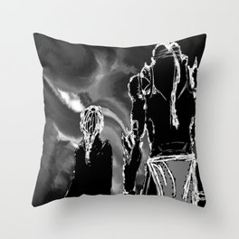 The Elric brothers 2  Throw Pillow