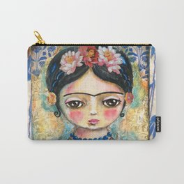 The heart of Frida Kahlo  Carry-All Pouch