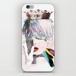 ART SAVE THE QUEEN iPhone Skin