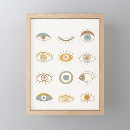 Evil Eyes I Framed Mini Art Print