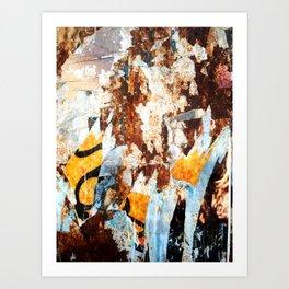 Vestiges Art Print