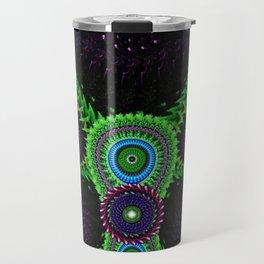 Fluorescent Bat Travel Mug