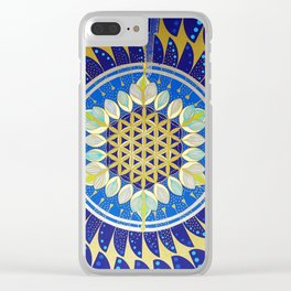 The Seed of Life Clear iPhone Case