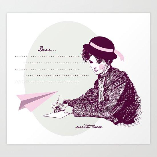 Lady Jane Art Print