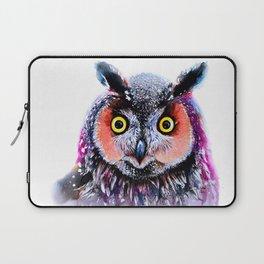 Long eared owl Laptop Sleeve