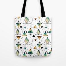Galaxy Geometric Pattern 19 Tote Bag