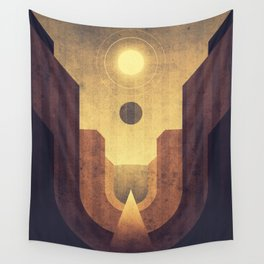 Janus & Epimetheus - Co-Orbital Moons Wall Tapestry