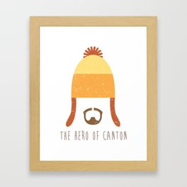 Jayne Cobb - Hero of Canton Framed Art Print