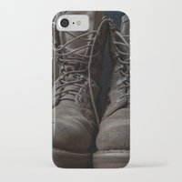 military iPhone & iPod Cases featuring Military Mark by Katelyn King