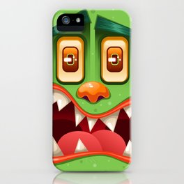Green Monster iPhone Case