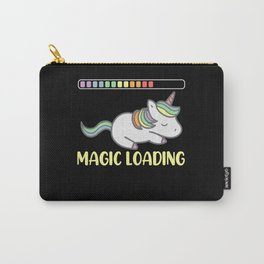 Unicorn Magic Loading Mythical Creatures Carry-All Pouch