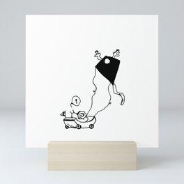 I am Kite Mini Art Print