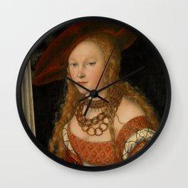 "Lucas Cranach the Elder ""Judith with the Head of Holofernes"" 2. Wall Clock"
