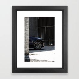 2012 Shelby GT-500 wheel Framed Art Print