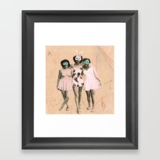 Imaginary Friends- Playmates Framed Art Print