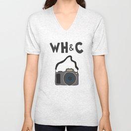 [WHC] Camera Unisex V-Neck