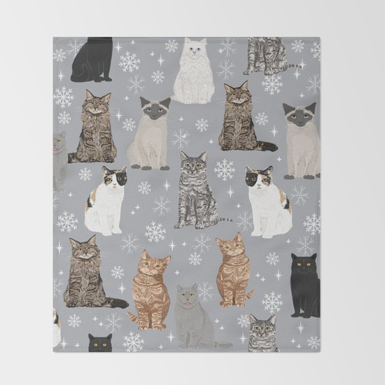 Cat breeds snowflakes winter cuddles with kittens cat lover essential cat gifts by catclub