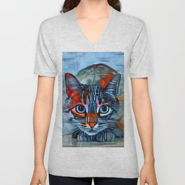 Watchful Unisex V-Neck
