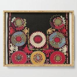 Lakai Uzbekistan Embroidery Print Serving Tray
