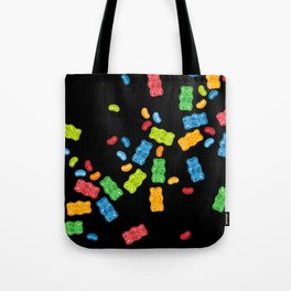 Jelly Beans & Gummy Bears Explosion Tote Bag