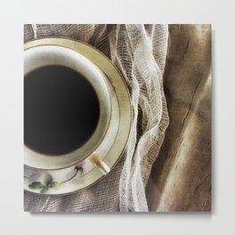 But First - Coffee! Metal Print