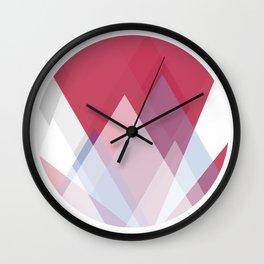Geometric stimulation 4 Wall Clock