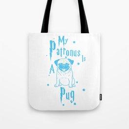 Pug Patronus Tote Bag