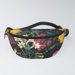 Floral and Birds Pattern Fanny Pack