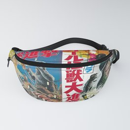 Godzilla Movie Posters Fanny Pack