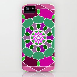 Mandala in many colors iPhone Case