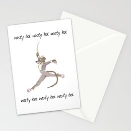 he is cermet the rat king  Stationery Cards