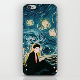 Taehyung Starry Night iPhone Skin