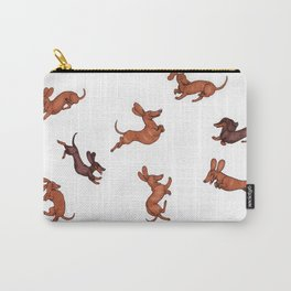 Wiener Doggies Carry-All Pouch