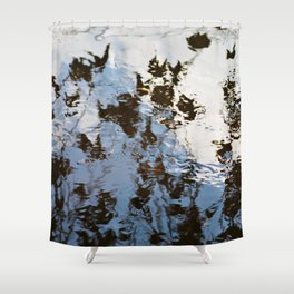 Rippled Effect Shower Curtain
