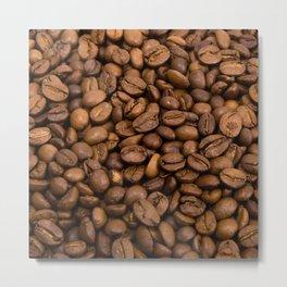 Coffee Bean Metal Print