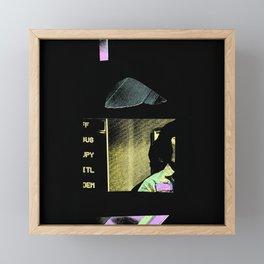 potrait Framed Mini Art Print