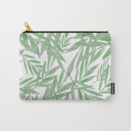 leave pattern Carry-All Pouch