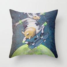Erin's Cow Throw Pillow
