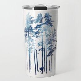 Winter Wolf Travel Mug