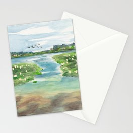 Green Lake in June Stationery Cards