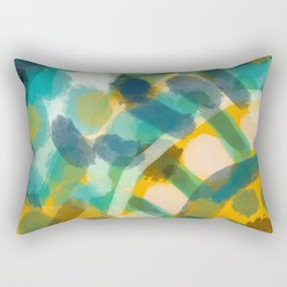 Heading east Rectangular Pillow