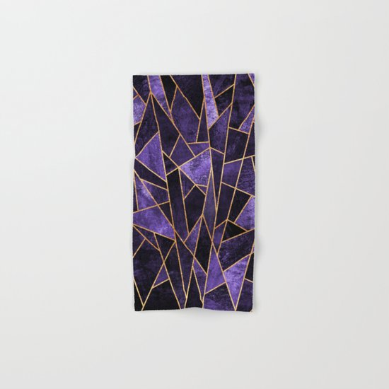 Shattered Amethyst Hand & Bath Towel