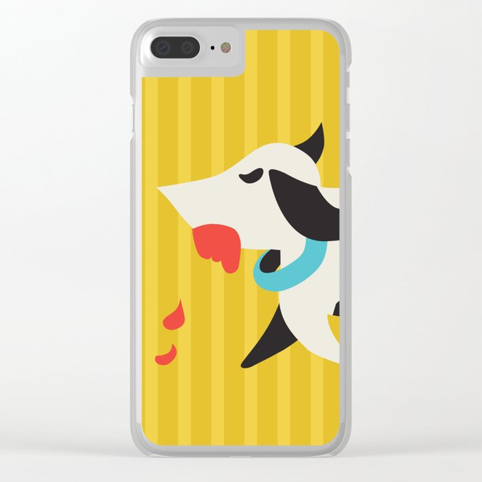 Zombie Dog Harriet Clear iPhone Case