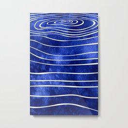 Tide X Metal Print
