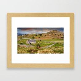 St Celynnin Church Wales Framed Art Print